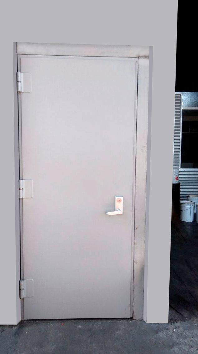 Puerta metalica exterior armario metlico para exterior - Puerta metalica exterior ...